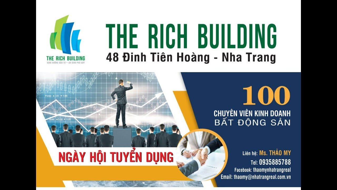 TUYỂN DỤNG NHÂN SỰ NHA TRANG – THE RICH BUILDING