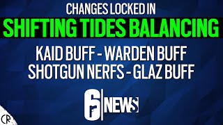 Shifting Tides Balancing Changes Now Locked In - 6News - Tom Clancy's Rainbow Six Siege