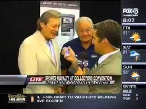 Colts Legend Tom Matte speaks about Digital Legends with Fox 45 Baltimore
