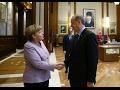 Erdoğan Merkel buluşması (Cumhurbaşkanlığı Sarayı)