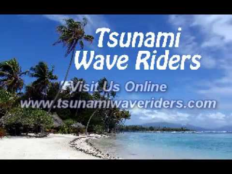 Peace, Love & Aloha with the Tsunami Wave Riders