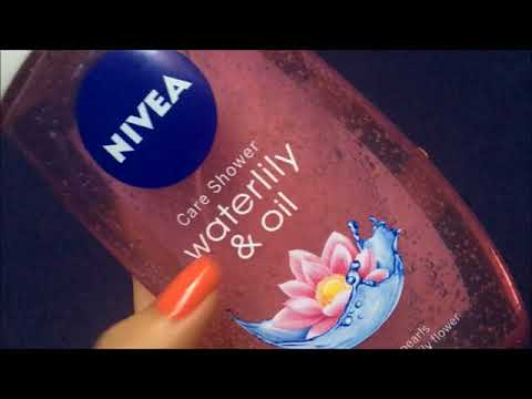 NIVEA WATERLILY AND OIL SHOWER GEL REVIEW