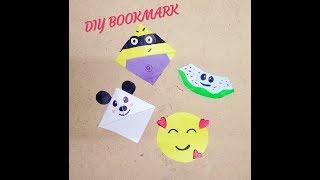 4 DIY Bookmarks Idea's | Cute Bookmarks | Do It Yourself |