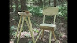 Woodland Furniture: A Simple Stool