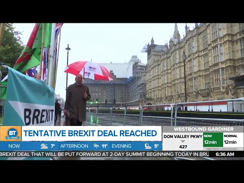 EU And UK Reach Tentative Brexit Deal, And Other Top Business News