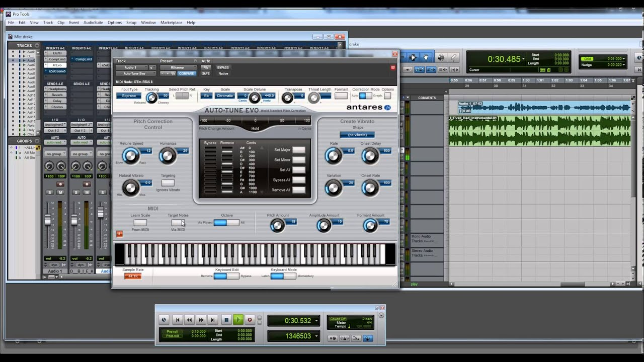 Best I Ever Had Auto Tune Settings (Drake) with Sample - YouTube
