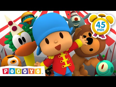 🎪  THE GREATEST SHOW - Pocoyo And The Space Circus 👏 | VIDEOS And CARTOONS For Kids