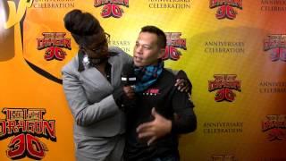 DPTV Networks interviews Ernie Reyes Jr  @ The UASE 2014 for The Last Dragon