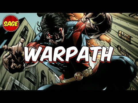 Who is Marvel's Warpath? Vibranium Bowie Knives Says It All.