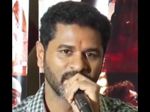 I Will not Forget Tamil Cinema -Prabhu Deva Press Meet @ Action Jackson Movie