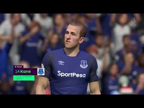 FIFA 18 everton career mode