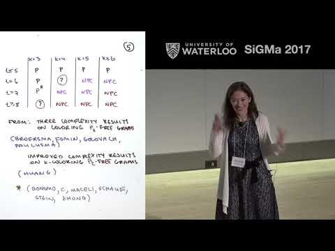 SiGMa 2017 Maria Chudnovsky, Coloring graphs with forbidden induced subgraphs