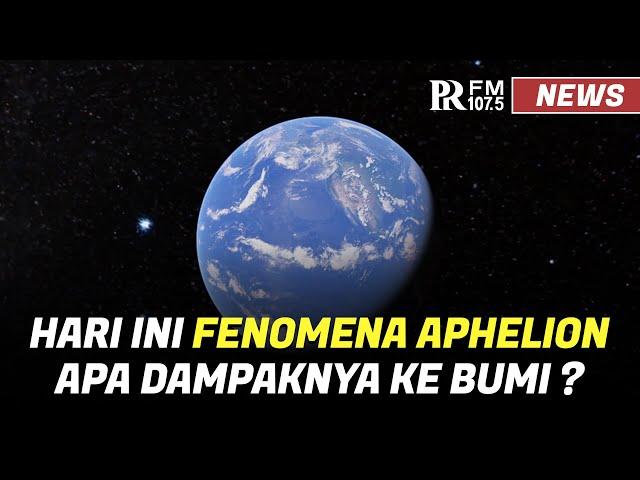 Hari Ini Bumi Berada di Jarak Terjauh dari Matahari, Apa Dampaknya ?