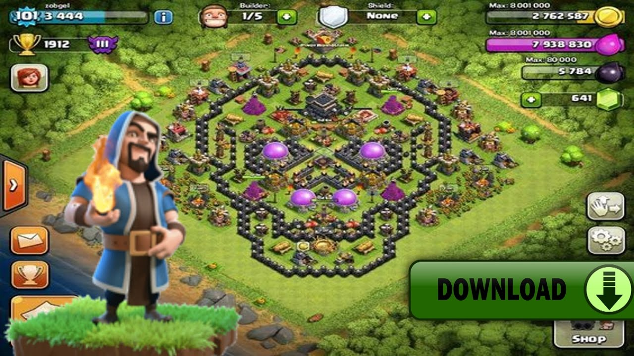 download clash of clans di play store