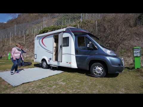 Unterwegs mit Wohnmobil  Frühling im Vinschgau  Camping Vogelsang 2018  Full HD