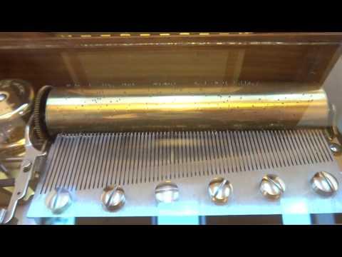 Vintage Reuge music box Beethoven Fur Elise