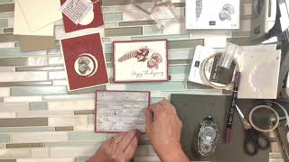 Cards with Day of Thanks Stamp Set Facebook Live Replay