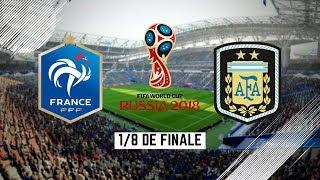 FIFA 18 - Coupe du Monde / LES  1/8 DE FINALE #2