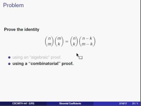 easy approach to the binomial theorem Binomial theoremcontents 1 introduction 2 2 binomial theorem: it is easy to check approach to prove the binomial theorem and one.