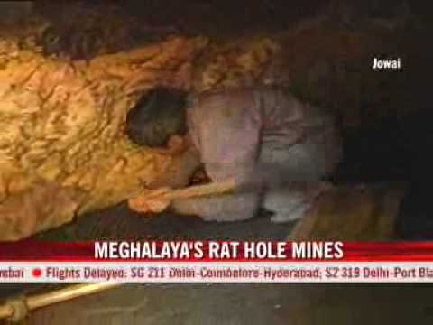 The Rat-hole Coal Mines Of Meghalaya