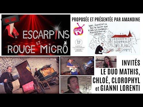 Escarpins & rouge micro avec le duo Mathis, Chloé et Gianni Lorenti