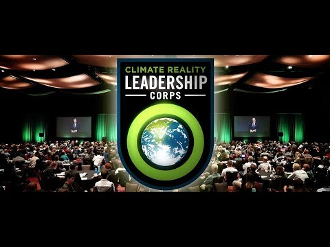 Experiencing a Climate Reality Leadership Corps Training