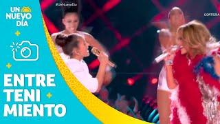 Shakira y Jennifer Lopez: el significado de su show   Un Nuevo Día   Telemundo