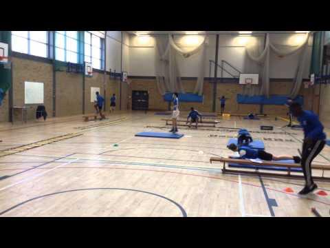 Bishop PE GCSE circuit training