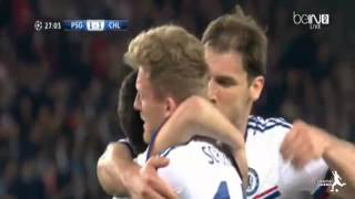 psg vs chelsea 3 1 all goals and highlights hd cl 2014