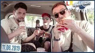 Los Angeles Fast Food Tour | MoinMoin mit Etienne, Simon & Dennis