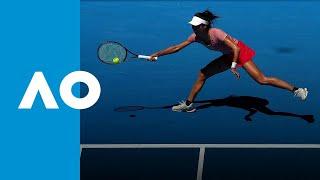 Su-Wei Hsieh wins first set against Naomi Osaka (3R) | Australian Open 2019
