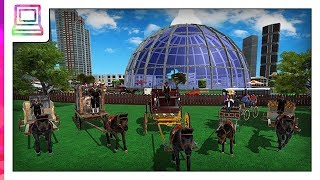 Horse Carriage Transporter - Cart Riding Simulator Android Gameplay (Horse Game)