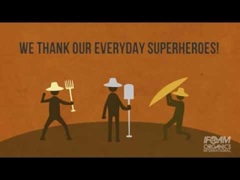 👏👍👋 We Thank & Celebrate Our Superheroes - Organic Farmers!