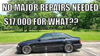 A BMW Dealer Tried Selling Me $17,000 Worth Of Basic Repair Work So I Took My 400K Mile M5 To CarMax