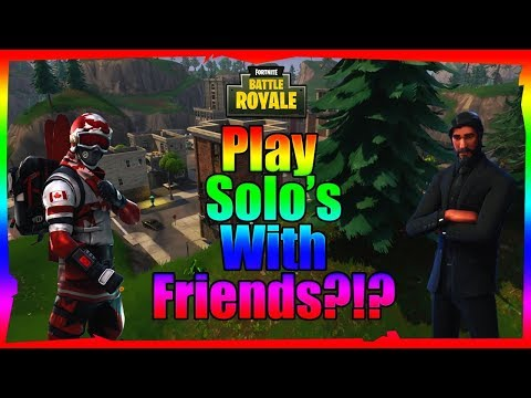 How to get in the same lobby as your friend on Fortnite Battle Royale!!