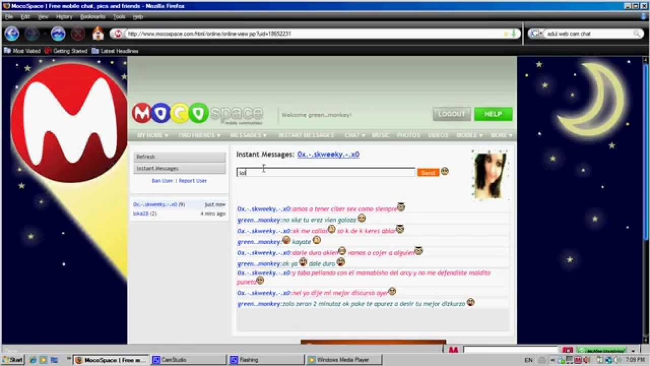 mocospace chat line