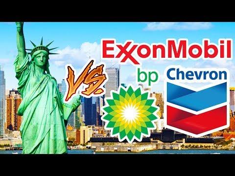 New York Suing Big Oil