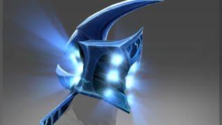 Dota 2: Severing Crest  - Razor immortal helmet