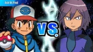 Pokemon Black and White 2 Wifi Battle - Ash Vs Paul