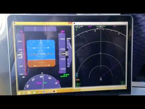 ADS-B ONBOARD WITH REALTIME PRIMARY FLIGHT AND NAVIGATION DISPLAY