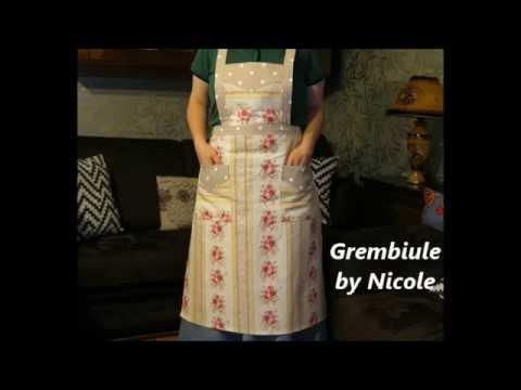 Come Confezionare Un Grembiule Da Cucina.Tutorial Come Realizzare Un Grembiule Sewing An Apron