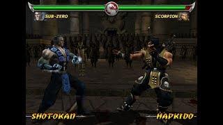 Mortal Kombat Deadly Alliance SUB-ZERO - (VERY HARD) - (PS2)【TAS】