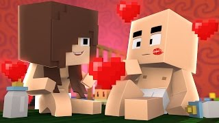 Minecraft - WHO'S YOUR DADDY?! ‹ BEIJO DOS BEBÊS! › (Kiss Baby)