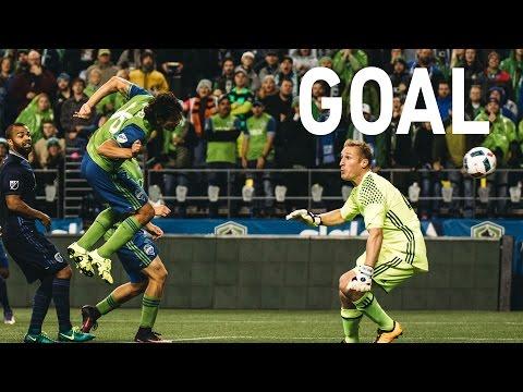 GOAL: Nelson Valdez scores the knockout round winner in the 88th minute vs Sporting KC