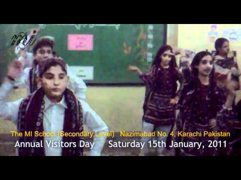 Sindhi Topi Ajrak Wara Jiyen - The MI School (Secondary Level) - HD Quality