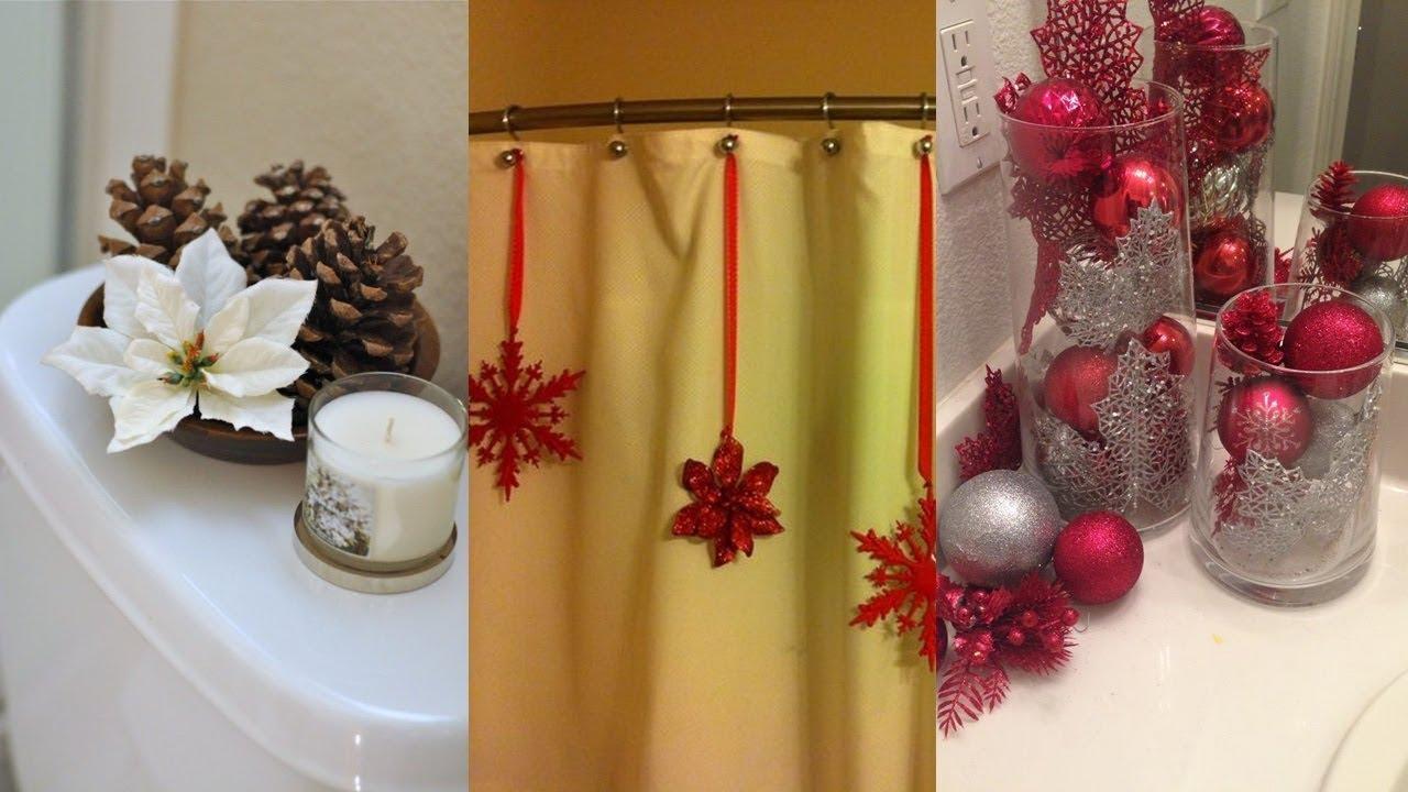 Ideas para decorar tu bano en navidad ideas for decorating - Ideas de banos ...