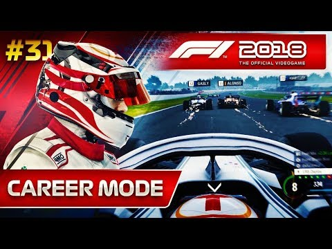F1 2018 Career Mode Part 31: MORE TRAFFIC THAN THE M25!