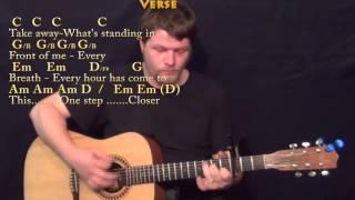 A Thousand Years (Christina Perri) Guitar Lesson Chord Chart - Guitar Instrumental with Lyrics