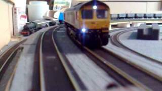 Howes class 66 chase camera sequence