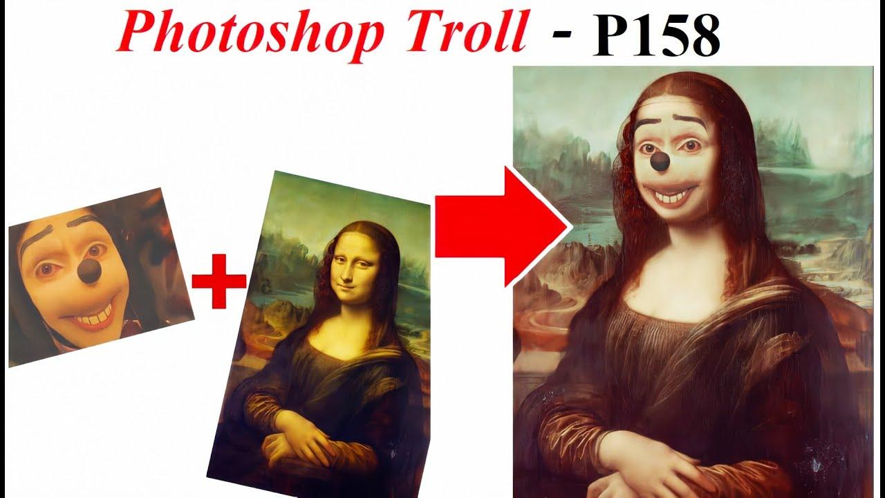 Ảnh Chế Jonathan Galindo 💓 Mona Lisa Photoshop Troll (P 158), James  Fridman | James Fridman | Know Your Meme